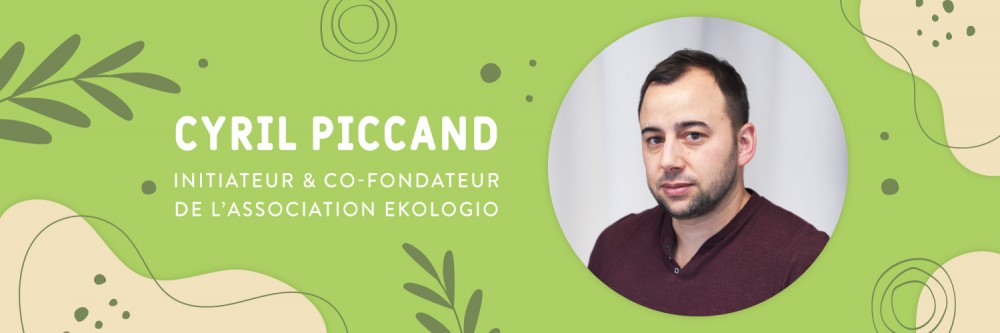Interview de Cyril Piccand, initiateur du projet Ekologio