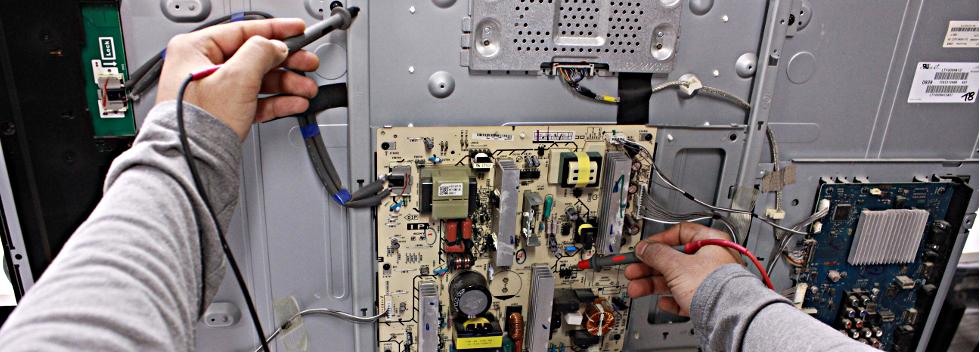 Réparations de télévisions et d'appareils électroniques